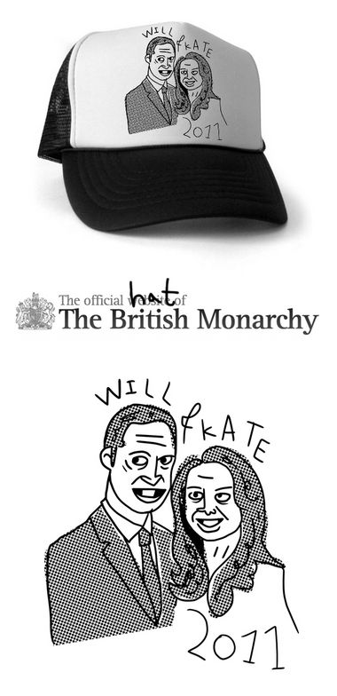 Official Will And Kate Trucker Cap